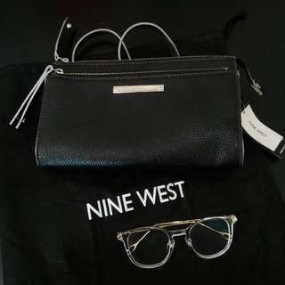 Nine West Zip n Go Sling BAG Authentic