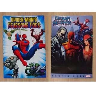 Toy Biz Marvel Legends Box set Poster book