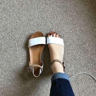Cino Ventori Leather Sandal