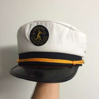 Steady The Ship Cricket Sailors Hat