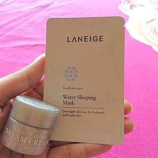Laneige Mask&Dream Cream