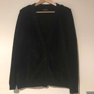 TOPSHOP Black Cardigan