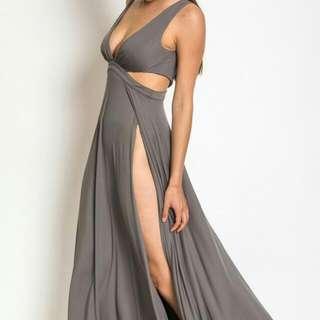 Silver Grey Maxi dress Bnwt new price