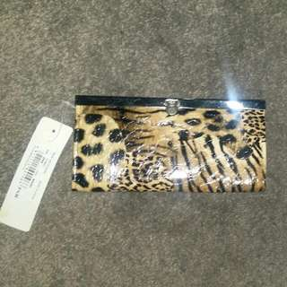 New Leopard Print Purse