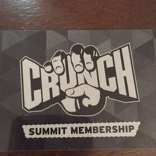 Crunch Fitness Membership