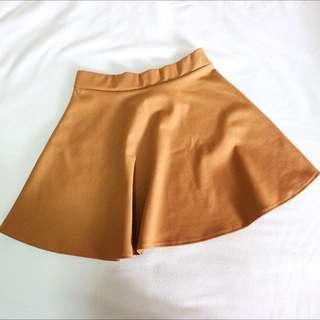 Caramel Skater Skirt