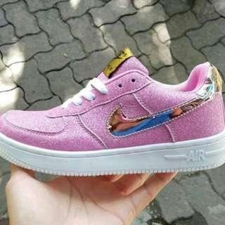 Nike Air Force Metalic