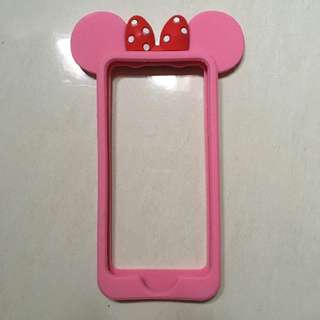Minnie Mouse Pink Bumper Case For Iphone 5/5s
