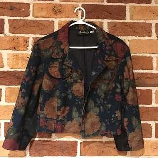 Annah S. Cropped Blazer