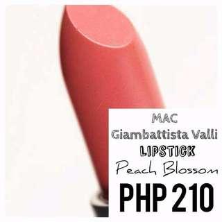 Lipstick   MAC   Giambattista Valli   Peach Blossom