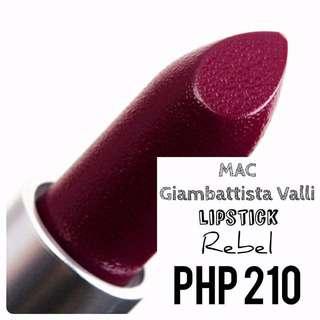 Lipstick | MAC | Giambattista Valli | Rebel