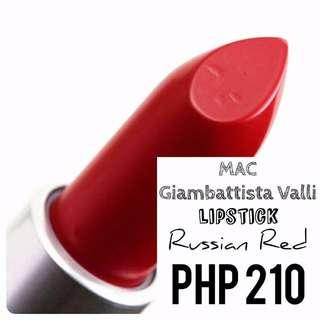 Lipstick | MAC | Giambattista Valli | Russian Red