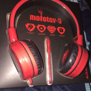 WTS NEW Armageddon Molotov 5 Headphones