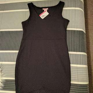 SUPRE BLACK COCKTAIL DRESS SIZE L