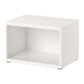 Ikea white system frame/cabinet