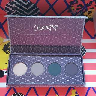 Colourpop Amanda Steele Weekend Warrior Palette