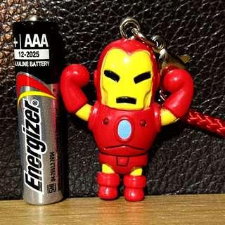 Authentic Tokidoki Marvel Frenzies Charm Keychain - IronMan