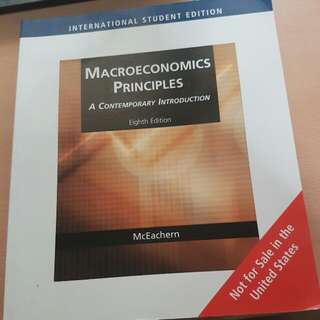 Macroeconomics Principles A Contemporary Introduction Eighth Edition