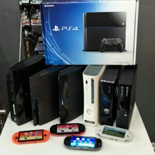 Game Consoles Clearance