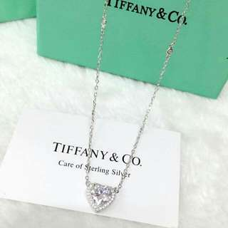 Tiffany Diamomd Heart Necklace