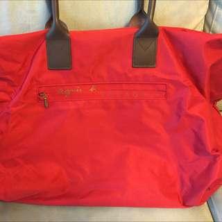 Agnes b Red Travel Bag