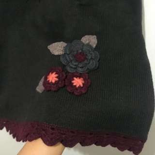 Cute Flower Knit