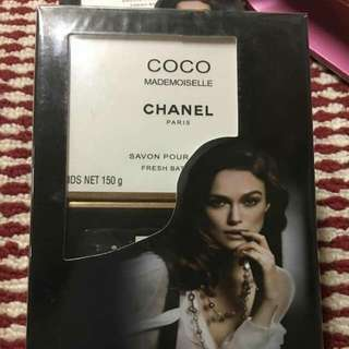 Coco Mademoiselle Chanel 2pcs soap gift pack