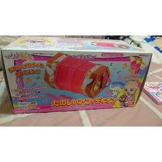 日本正版可議價小魔女DOREMI  小花手風琴 電話   BANDAI