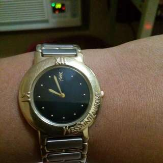 Authentic Yvessaintlaurent(ysl) In Black Dial