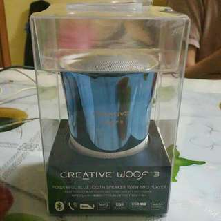 CREATIVE WOOF3 Bluetooth Speaker w MP3 Player