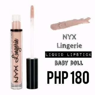 Liquid Lipstick | NYX | Lingerie | Baby Doll