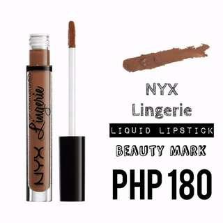 Liquid Lipstick | NYX | Lingerie | Beauty Mark