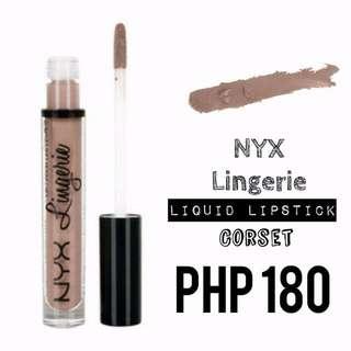 Liquid Lipstick | NYX | Lingerie | Corset