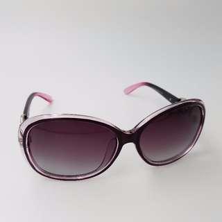 Purple Retro Ladies Sunglasses