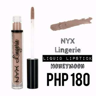 Liquid Lipstick | NYX | Lingerie | Honeymoon