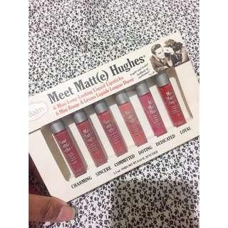 The Balm Meet Matte Hughes Liquid Lipstick