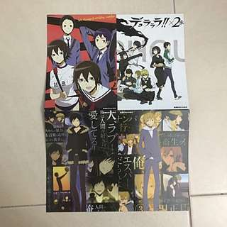 Durarara Picture Cards/Postcards