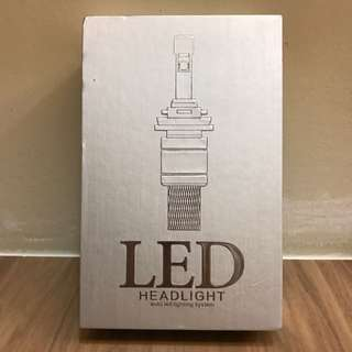 Premium H7 45W 6000K 5500 Lumens LED HeadLight