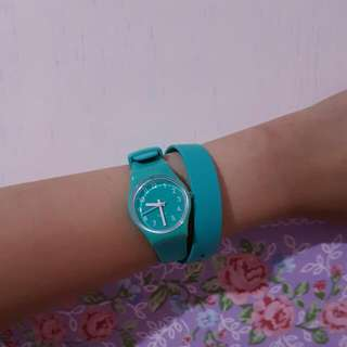 Swatch Lady - Turquoise