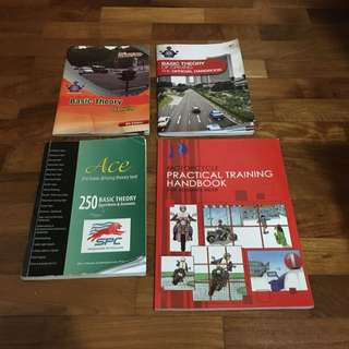 Basic theory (driving) Books & BBDC Motorcycle Practical Book