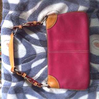 All Weather Leather Dooney & Bourke