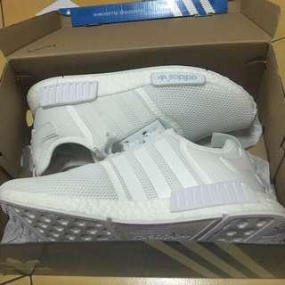 Adidas Nmd R1 全白
