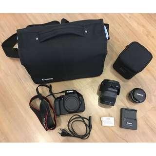 Canon 650D + Sigma 18-50mm F2.8 EX DC MACRO + Canon 50mm F1.8