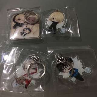Yuri On Ice Acrylic Keychains