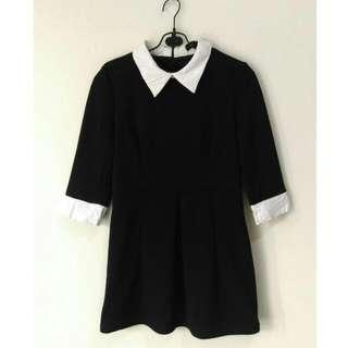 Monochrome Mini Dress