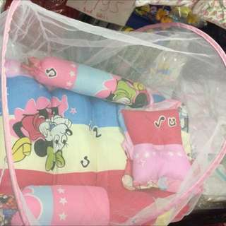 3 Inch Thick Baby Comforter With Mosquito Net