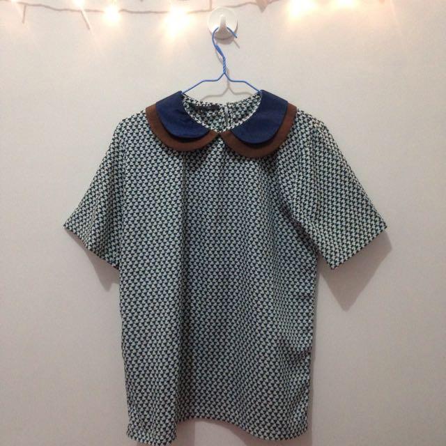 8wood blouse