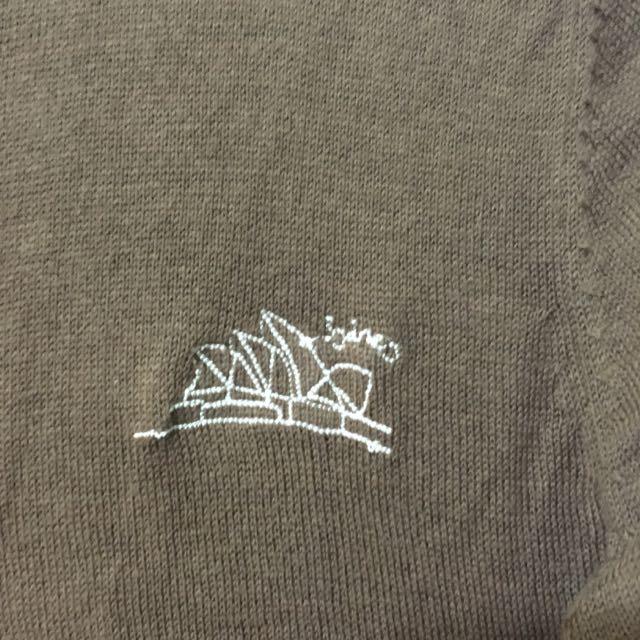 刺繡雪梨歌劇院針織外套