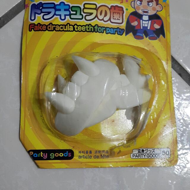 大創玩具假牙#你喜歡我送你