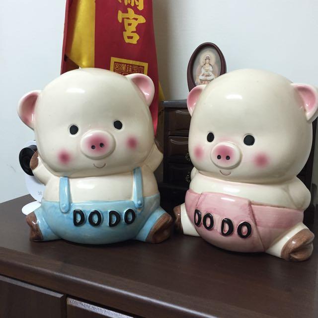 超大小豬撲滿~喜歡就送你